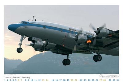 Super Constellation Flyers - Calendar Jan 2007