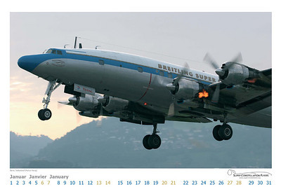 Super Constellation Flyers - Calendar Jan 2007