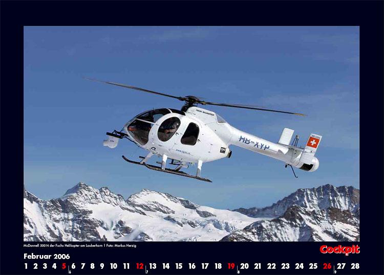 Cockpit Calendar – Rotorworld Feb 2006