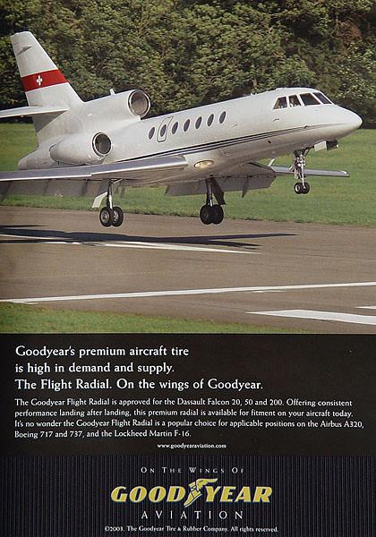 Goodyear Aviation - Advertisement 2003