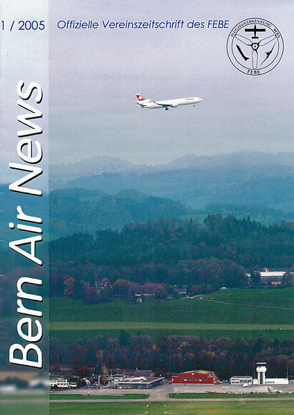 FEBE Bern Air News - Magazine Cover No.1 2005