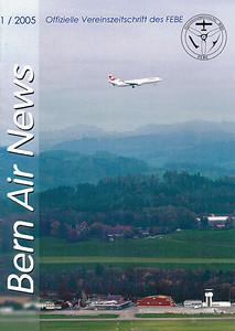 FEBE Bern Air News - Magazine Cover No.1 2005