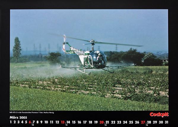 Cockpit Calendar – Rotorworld Mar 2005