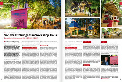 Fotos vom OSTHANG PROJECT im Frizz Magazin