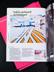 Fotos vom Flugsimulationscenter simINN in Stuttgart designed von Boris Banozic