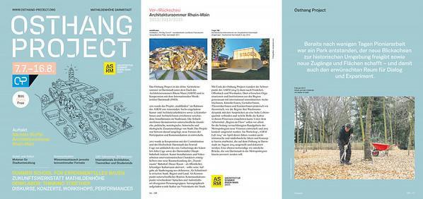 Fotodokumentation der Architektursommer Rhein-Main 2011 - 2012 - 2014