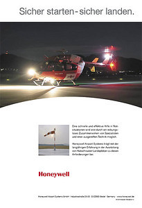 Honeywell Airport Systems GmbH - Advertisement 2006