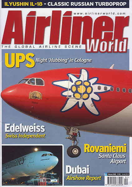 Airliner World - Magazine Cover No.2 2004