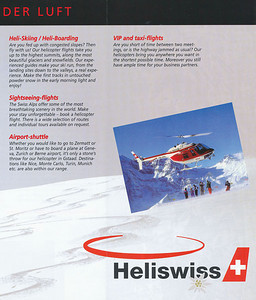 Heliswiss - Flyer 2002