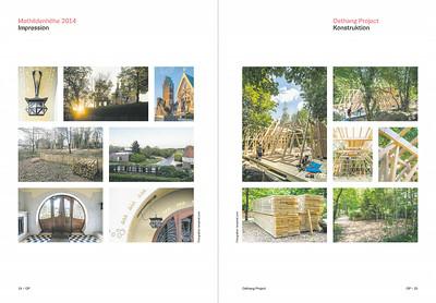 Fotodokumentation des OSTHANG PROJEKTS zum Architektursommer Rhein-Main 2014