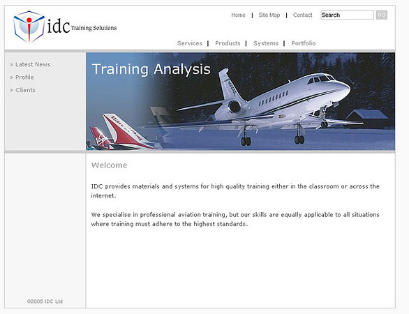 idc Training Solutions - Website