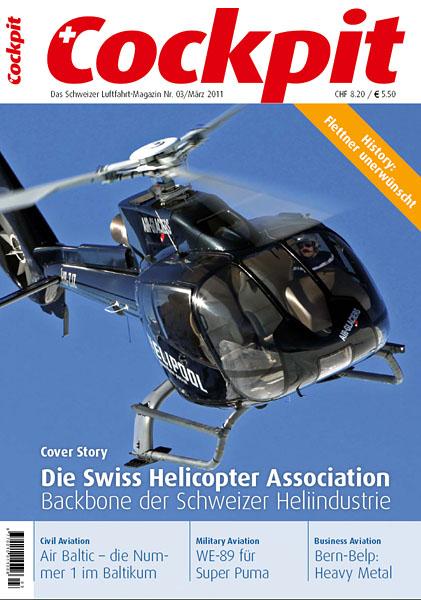 Cockpit - Magazine Cover No.3 2011 - HB-ZJZ