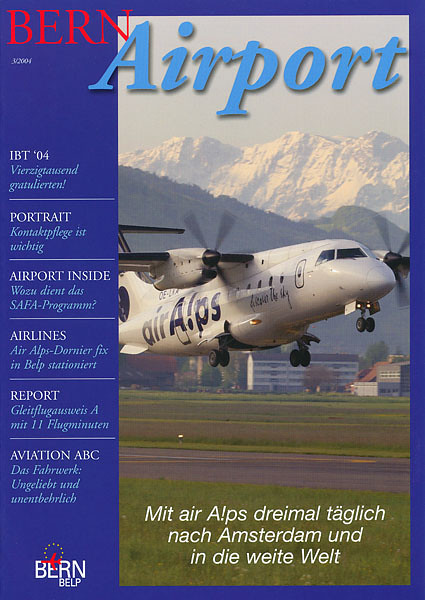 Bern Airport - Magazine Cover No.3 2004