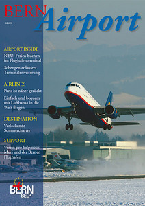 Bern Airport - Magazine Cover No.1 2009