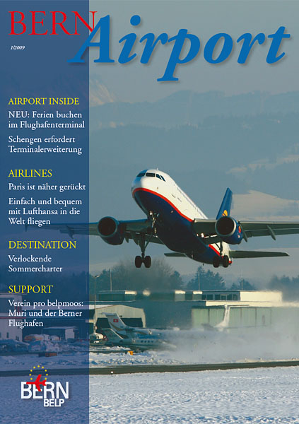 Bern Airport - Magazine Cover No.1 2009