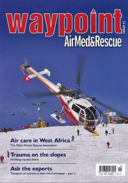 Waypoint - Magazine Cover Issue 21 2010