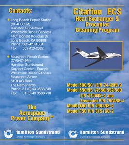 Hamilton Sundstrand - Flyer 2001