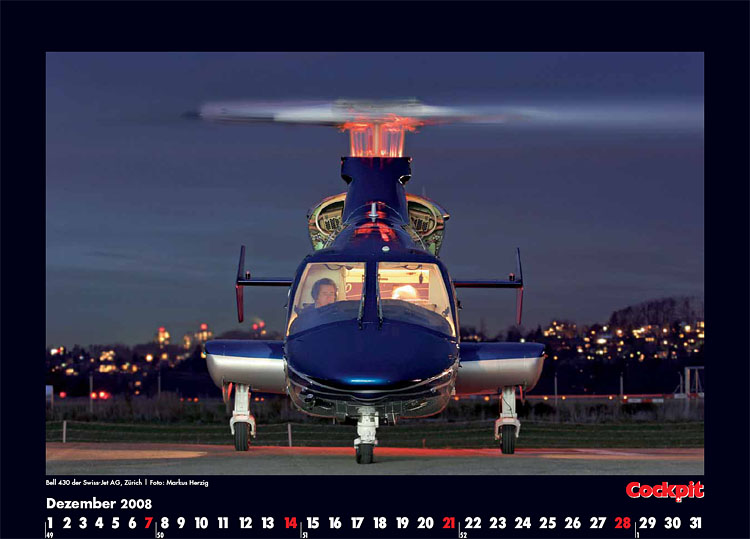 Cockpit Calendar – Rotorworld Dec 2008
