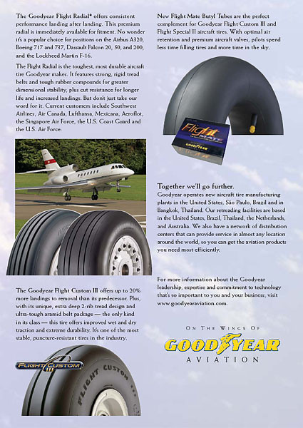 Goodyear Aviation - Advertisement 2004