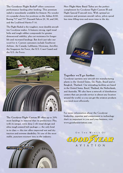 Goodyear Aviation - Advertisement 2004