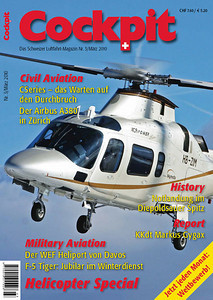 Cockpit - Magazine Cover No.3 2010 - HB-ZIM