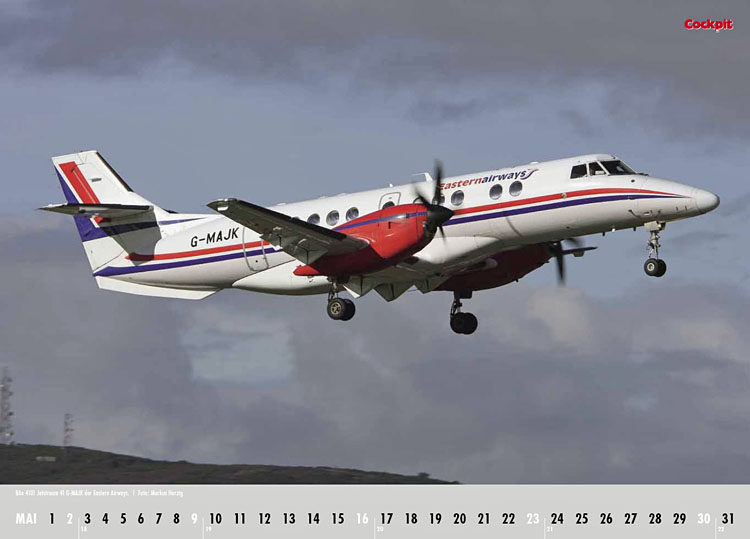 Cockpit Calendar – Airliner May 2010