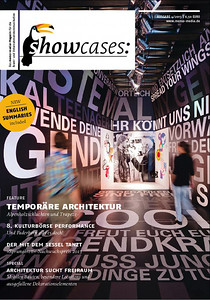 Coverfoto showcases: Temopräre Architektur