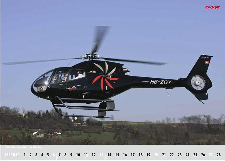Cockpit Calendar – Rotorworld Feb 2011