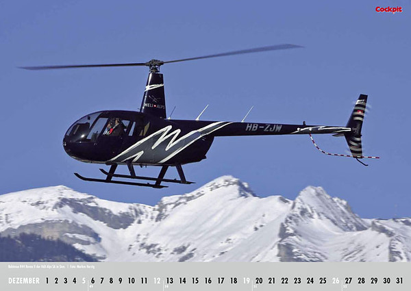Cockpit Calendar – Rotorworld Feb 2010