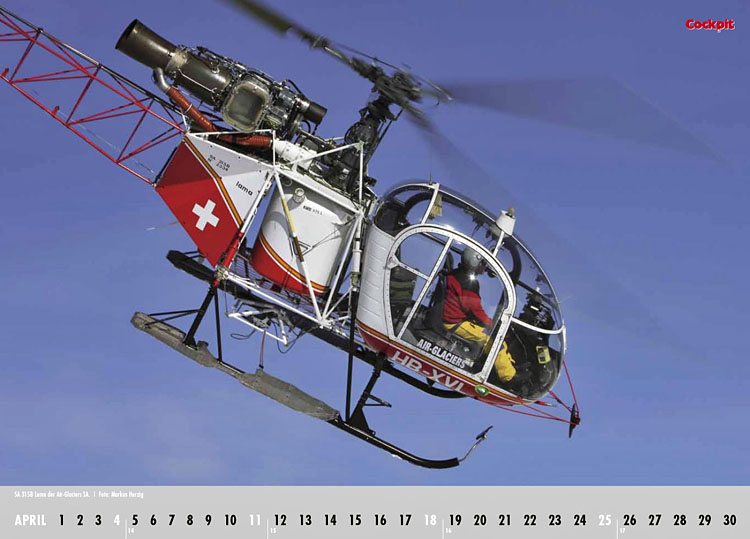 Cockpit Calendar – Rotorworld Apr 2010