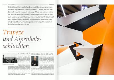 showcases 4/2013: Fotos Trillusion und simINN für Boris Banozic architecture   scenography