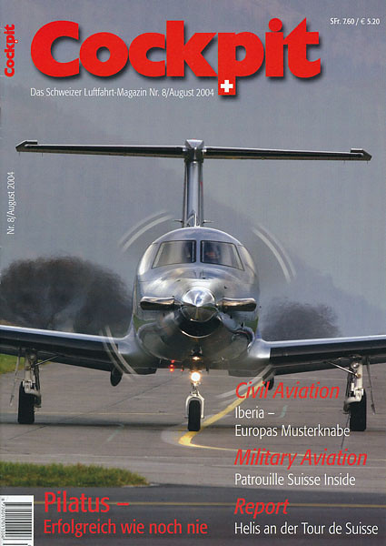 Cockpit - Magazine Cover No.8 2004