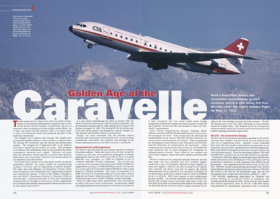 Air International - Golden Age of the Caravelle June 2005