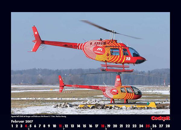 Cockpit Calendar – Rotorworld Feb 2007