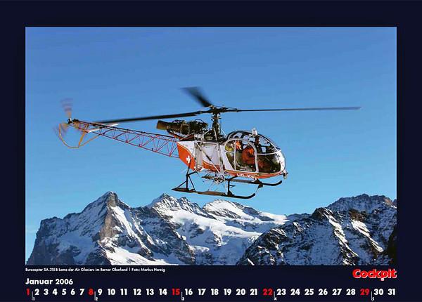 Cockpit Calendar – Rotorworld Jan 2006