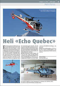 Cockpit – Heli-Focus No.1 2011