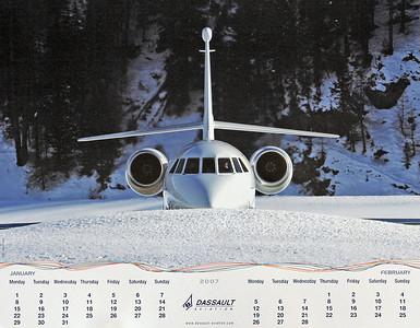 Dassault Aviation - Calendar Jan 2007