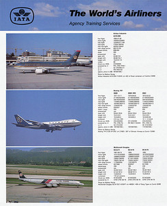 Buchair IATA - The World's Airliners  1989 (Compilation)