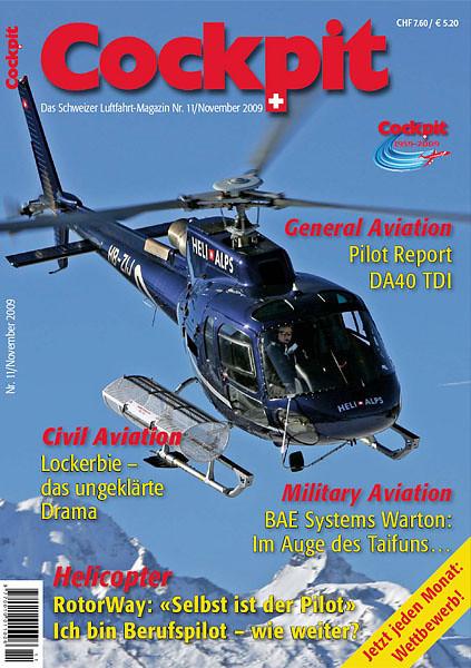 Cockpit - Magazine Cover No.11 2009 - HB-ZIJ
