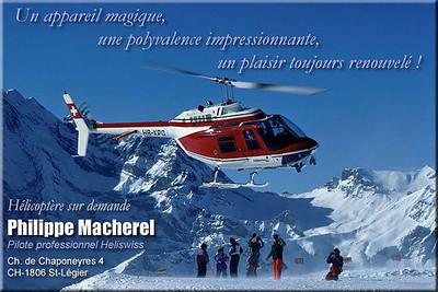 Philippe Macharel - Business Card 1996