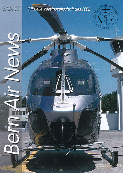 FEBE Bern Air News - Magazine Cover No.3 2001