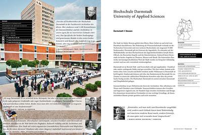 Fotos für die Hochschule Darmstadt im Studienführer Innenarchitektur
