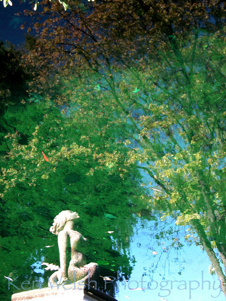 """Lady in the Water""<br /> <br /> Cantigny Park <br /> © Copyright Ken Welsh"
