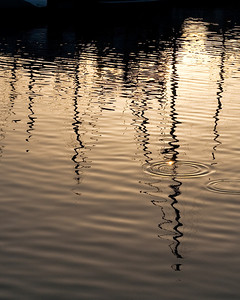 6563 Sunset Reflections