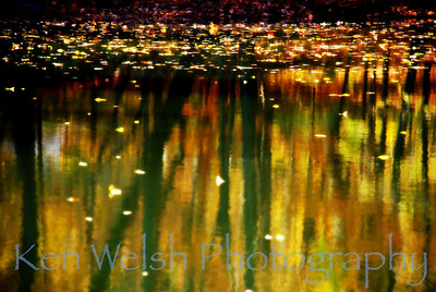 """Fire in Water""  © Ken Welsh Copyright"