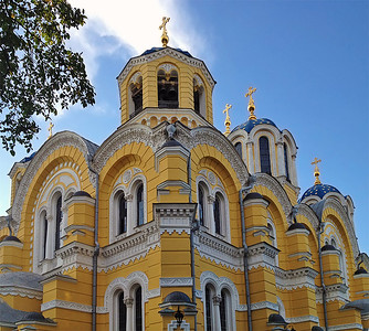St Volodymyr's Cathedral, Kyiv, Ukraine