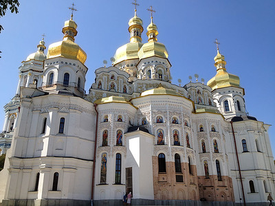Cathedral of Dormition, Lavra, Kyiv, Ukraine