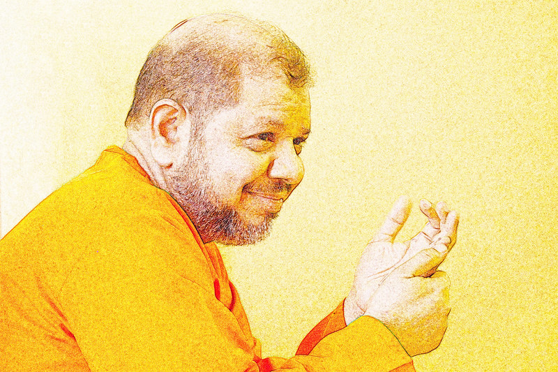 Swami Tejomayanandaji of Chinmaya Mission