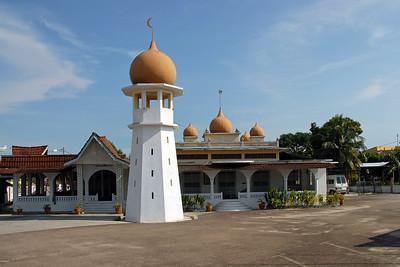 Mosque in Melaka. Sekolah Rendah Agama Arab Al Falah, Jelatang, Alor Gajah, Melaka, Malaysia.