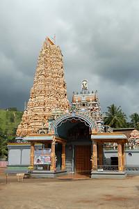 Hindu tamil temple in Sri Lanka.